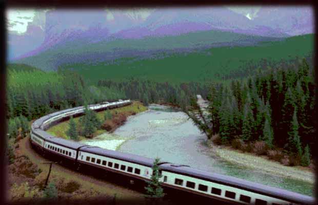 Очерк путешественницы в пассажирском поезде